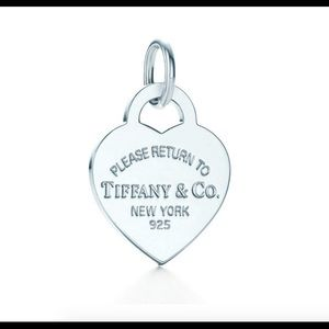 Return to Tiffany Heart Tag Charm